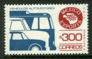 MEXICO Exporta 1495a $300P Cars/Buses Unwmk Thin Paper 3 MINT, NH. VF.