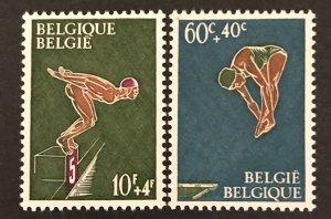 Belgium 1966 #B791-92, MNH, CV $1.05