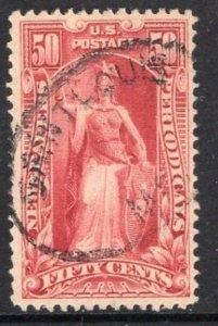 #PR119  50c Newspaper Stamp - USED and NICEf  cv$75.00
