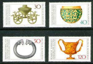 Germany Scott 1218-1221 MNG Mint No Gum 1976 stamp set