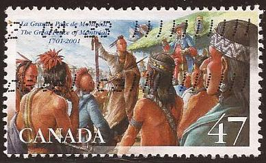 Canada - Scott# (040 - used single) 1915 (2001) VF The Gr...