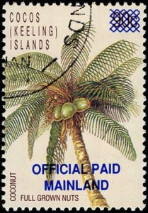 Cocos Islands #01, Complete Set, 1991, Used
