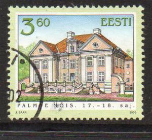 Estonia Sc 395 2000 Palmse Hall stamp used