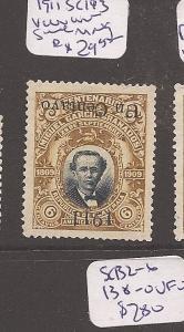 Guatemala 1911 SC 143 inverted surcharge MNG (9atu)