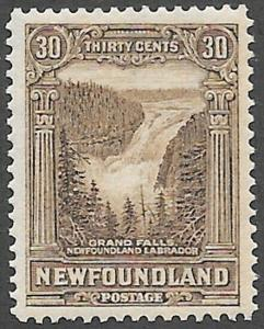 Newfoundland Scott Number 159 VF H
