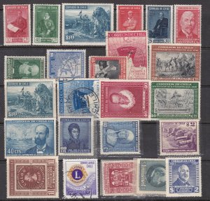 CHILE ^^^^^^sc# 211//288  mostly  mint hinged collection  $$@ lar 3149chile