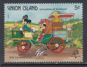 St Vincent Grenadines Union Island 245 Disney's MNH VF