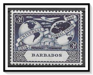 Barbados #213 UPU Issue MNH