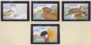 Gambia Stamps Scott #1613 To 1616, Mint Never Hinged - Free U.S. Shipping, Fr...