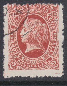 GUATEMALA  An old forgery of a classic stamp................................D464