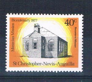 St Kitts-Nevis 341 MNH Basseterre Mission 1977 (S0887)