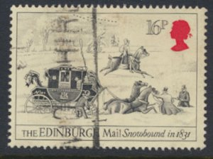 Great Britain  SG 1262  SC# 1066 Mail Coaches   Used see detail and scan
