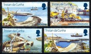 Tristan Da Cunha Sc# 580-583 MNH 1996 New Harbour