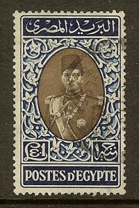 Egypt, Scott #240, L1 King Farouk, Used