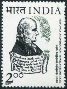 HERRICKSTAMP INDIA Sc.# 767 Homeopathic