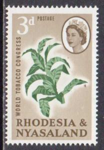 Rhodesia & Nyasaland  #184  MNH  (1963)  c.v. $0.30