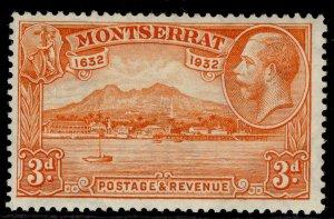 MONTSERRAT GV SG89, 3d orange, M MINT.