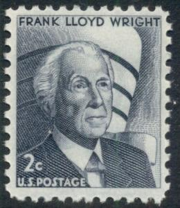 #1280 2¢ FRANK LLOYD WRIGHT LOT OF 400 MINT STAMPS, SPICE UP YOUR MAILINGS!