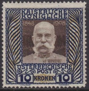 Austria 1908 SC 127 MLH