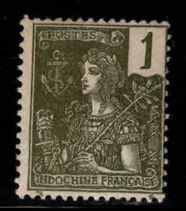 Indo-China Scott 24 MH* stamps from 1904-1906 France set
