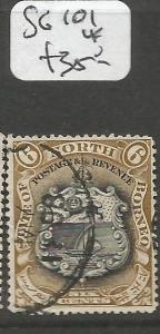 North Borneo SG 101 VFU (6cmp)