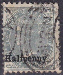 New South Wales #92  F-VF Used CV $14.00 (Z1805)