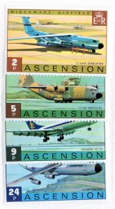 ASCENSION 185-8 MNH SCV $6.50 BIN $3.90 AIRPLANES