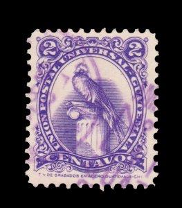 GUATEMALA STAMP 1957. SCOTT # 367. USED. # 5