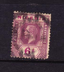 NIGERIA 1914 6d  KGV  FU SG 7