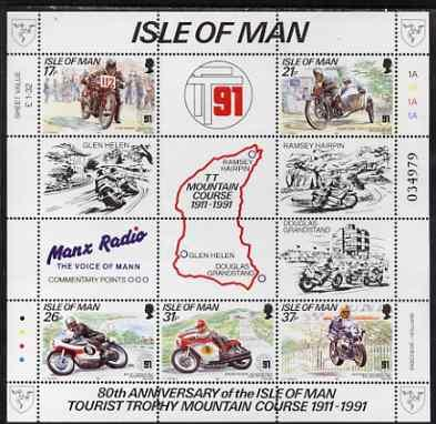 Isle of Man 1991 80th Anniversary of TT Mountain Course p...