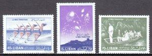 Lebanon - Scott #C311-C313 - MH - SCV $4.50