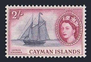 Cayman 146,MNH.Michel 147. QE II,1953.Cayman Schooner.