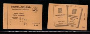 Finland Sc 173 1936 complete booklet mint NH