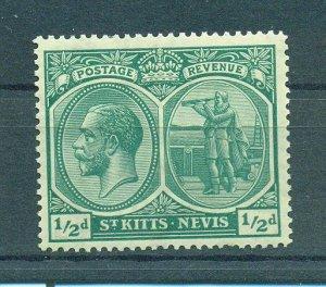 St. Kitts & Nevis sc# 37 (4) mnh cat value $3.00