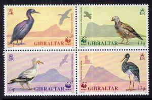 Gibraltar 594a Birds MNH VF