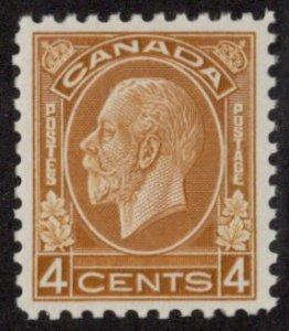 CAN SC #198 MNH 1932 4c King George V CV $95.00