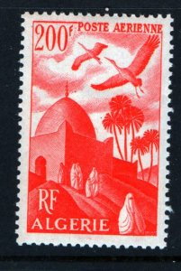 ALGERIA C10 MNH STORKS OVER MOSQUE ISSUE 1949