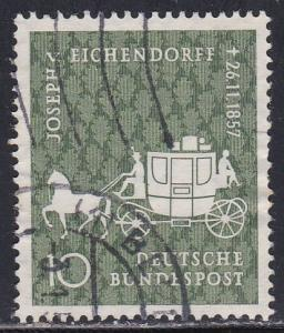 Germany # 779, Coach & Horse, Used, Half Cat