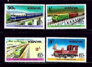 Kenya 64-67 MH 1976 Trains