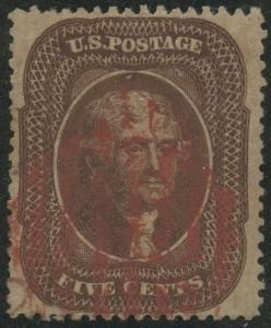 #30A VF USED WITH RED SHIELD CANCEL CV $375 BS7516