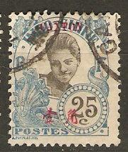 France Off China Canton 55 Cer 57 Used F/VF 1906 SCV $4.25