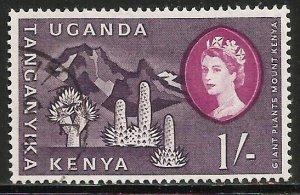Kenya, Uganda & Tanzania 1960 Scott# 129 Used