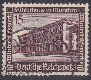 Germany # B99, Fuhrer House, Used