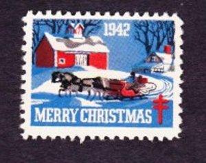 Christmas Seal from 1942 NG single