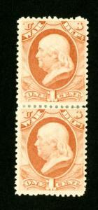 US Stamps # O83 XF OG VLH Pair Scott Value $480.00