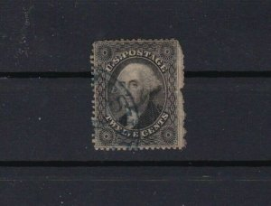 united states 1857 12 cent stamp cat £375 ref r10481A