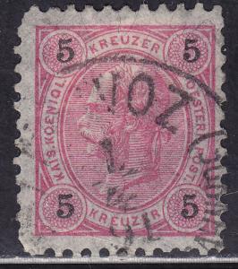 Austria 54 Franz Josef 1890
