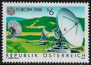 Austria #1429 MNH Stamp - Europa - Communications