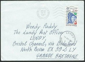 FRANCE TO LUNDY 1991 cover - arrival cds...................................48806