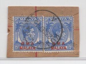 Malaya BMA - 1945 - SG 12 - Fine Used (Kuala Lumpur #2 Cancellation)